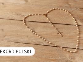 Największa kolekcja różańców Rekord Polski