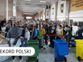 Rekord Polski Największa lekcja ekologii