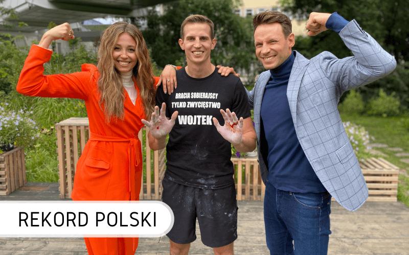 Wojciech Sobierajski zwis Rekord Polski