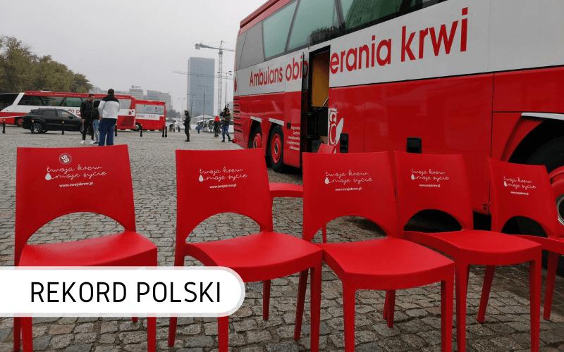 Oddawanie krwi naRekord Polski