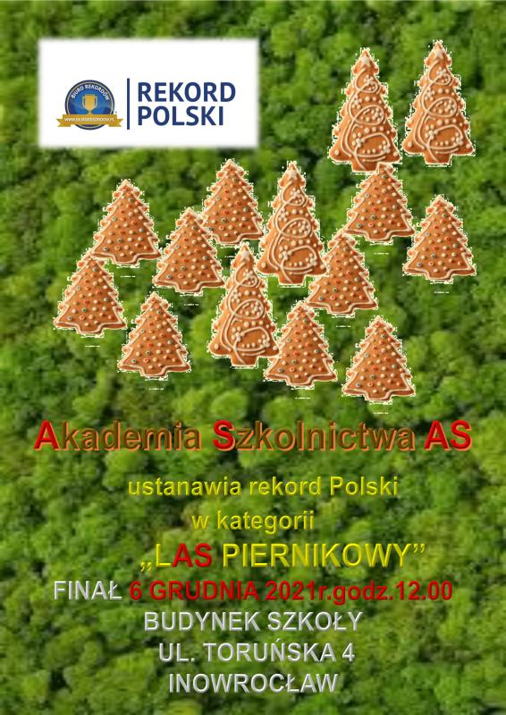 Rekord Polski las piernikowy