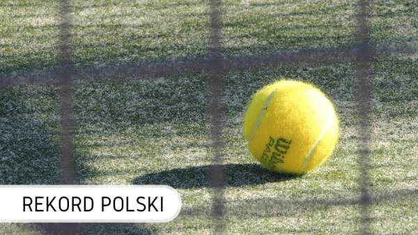 Rekord Polski podbicia piłki tenisowej